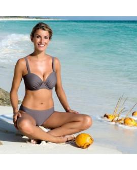 Wiki Full Cup bikini top Khaki
