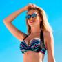 Wiki Magic bikini top Alicante på model